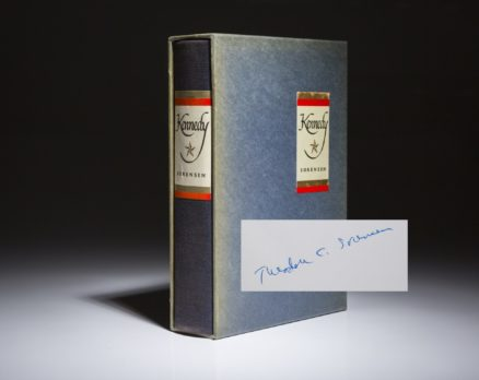 Kennedy by Theodore Sorensen, signed limited edition. In publishers slipcase.