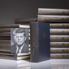 The Warren Commission Report on the Assassination of President John F. Kennedy, first edition, fine copies.