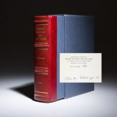 Robert Kennedy and His Times by Arthur Schlesinger. Signed limited edition.