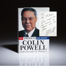 Colin Powell My American Journey. Signed first edition.