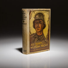 All Quiet on the Western Front by Erich Maria Remarque. First printing.