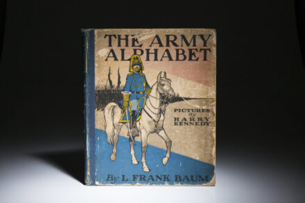 The Army Alphabet by Frank Baum. First Edition, first printing.