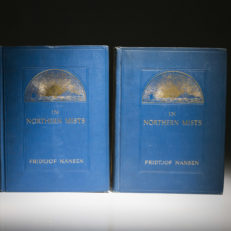 In Northern Mists by Fridjof Nansen. First Edition.