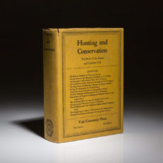 Hunting and Conservation by George Bird Grinnell. First edition in publishers dust jacket.