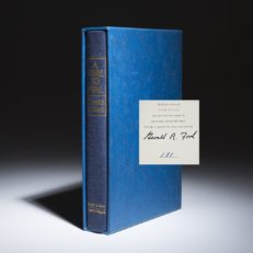 A Time To Heal by Gerald Ford. Signed limited edition.