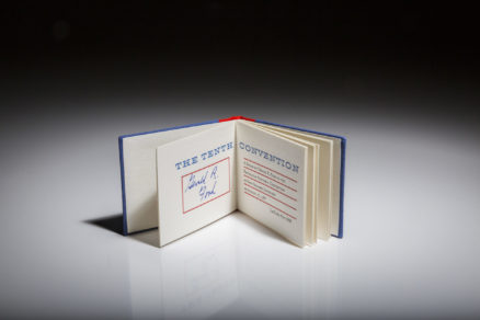 The Tenth Convention, signed by President Gerald R. Ford.