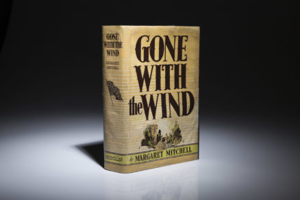 First edition of Gone With The Wind by Margaret Mitchell.