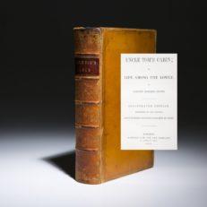 Uncle Tom's Cabin by Harriet Beecher Stowe.