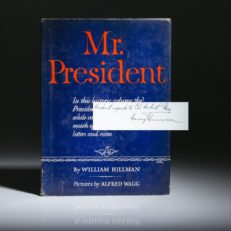 Mr President, signed by Harry Truman.