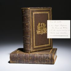 Memoirals of Liverpool, inscribed to the Prince of Wales.