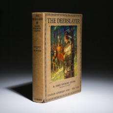 The Deerslayer by James Fenimore Cooper, a first edition copy.