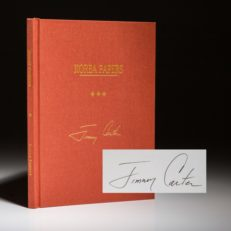 Korea Papers by President Jimmy Carter. Signed limited edition.