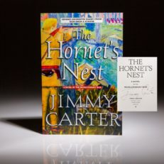 The Hornets Nest by Jimmy Carter. Signed advanced readers copy.