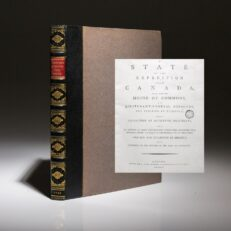 State Of The Expedition From Canada by John Burgoyne, a first edition of this important historical text.