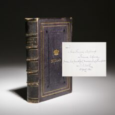 Book signed by Prince Alfred of Great Britian