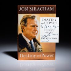 First edition of Destiny and Power by Jon Meacham. Signed first edition.