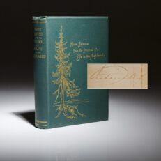 Journal of a Life in the Highlands. Signed. Third edition.