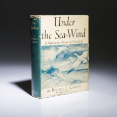 Under the Sea Wind by Rachel Carson. First edition.