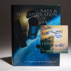 Nasa signed by Buzz Aldrin and other astronauts