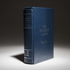 The deluxe limited edition of The Reagan Diaries, edited by Douglas Brinkley.