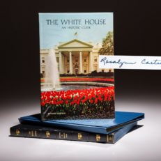 The White House Guide by Rosalyn Carter.