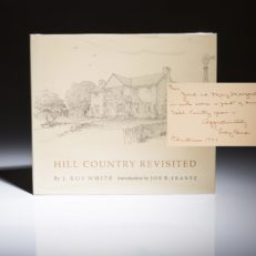 Hill Country Revisited, signed by Lady Bird Johnson. Inscribed to Jack Valenti.