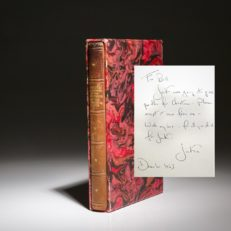 The Inaugural Addresses of the Presidents. Signed limited edition from Jackie Kennedy. From the estate of President John F. Kennedy.