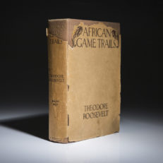 African Game Trails by Theodore Roosevelt. First edition in scarce dust jacket.