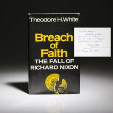 Breach of Faith by Theodore White.