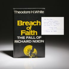Breach of Faith by Theodore White.