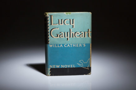 Lucy Gayheart by Willa Cather. First edition in dust jacket.