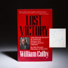 Lost Victory by William Colby.