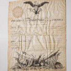 Military Appointment - Thomas Jefferson