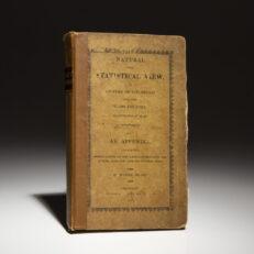 Drake's Natural and Statistical View of Cincinnati 1815.
