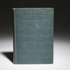 The Great Gatsby by F. Scott Fitzgerald. First edition, first state.
