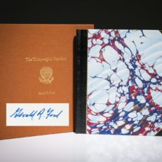 The Thirty Eigth President Gerald Ford Signed Limited edition.