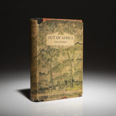 First edition of Out of Africa by Isak Dinesen.