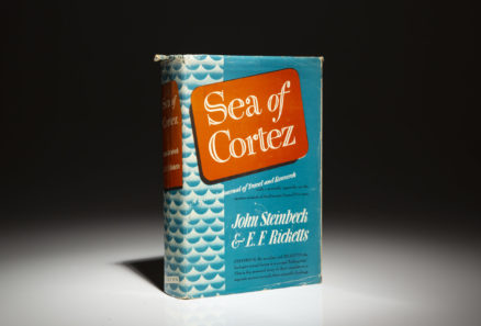 First edition of Sea of Cortez by John Steinbeck.