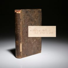Life of Mary Jemison, signed by President Millard Fillmore.