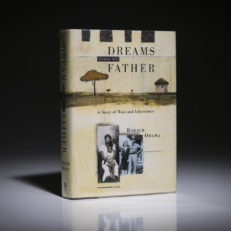 A first edition, first printing of Barack Obama's Dreams From My Father.