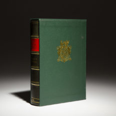 Winston Churchill Arms and the Covenant, first edition in deluxe binding.