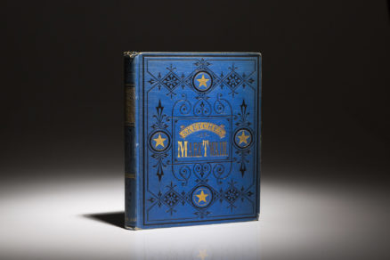 First edition, first state of Mark Twain's Sketches in the publishers original binding.
