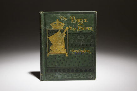 First American Edition of The Prince and The Pauper by Mark Twain.