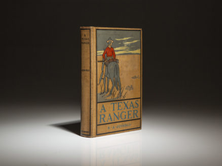 First edition of A Texas Ranger by N.A. Jennings, published in 1899.