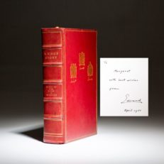 Limited edition of A King's Story by Edward the Duke of Windsor, signed on the limitation page with an additional tipped-in personalized note