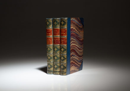 First edition of Adam Bede by George Eliot, in three volumes