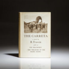 First edition of The Carreta by B. Traven, in publisher's first state dust jacket.