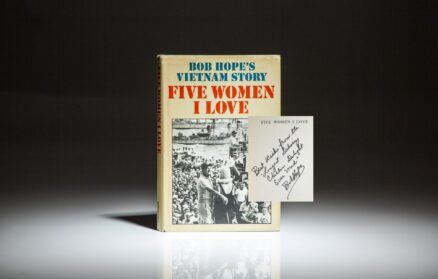 Signed first edition of Five Women I Love: Bob Hope's Vietnam Story
