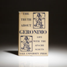 First edition of The Truth About Geronimo by Britton Davis.