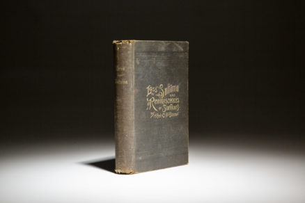 First edition of Revered Chester D. Berry's Loss of the Sultana from 1892